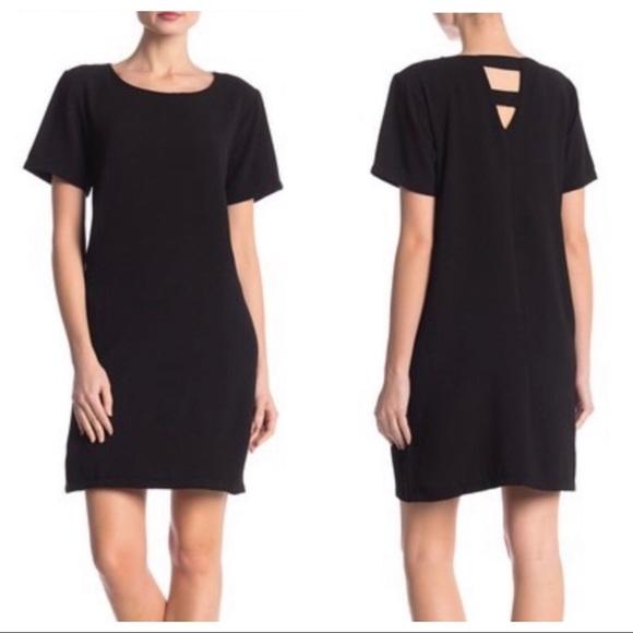 c9271d23a2 Nordstrom Dresses | Bobeau Black Crepe Shift Dress | Poshmark